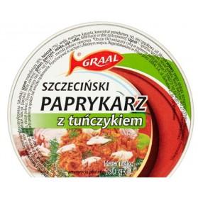 Graal Paprykarz with Tuna, Szczecinski Paprykarz z Tunczykiem 130g