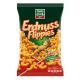 Peanut Flavored Puffs, Funnt Frisch Erdnuss Flippies 250g