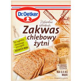 Rye Sourdough, Zakwas Chlebowy Zytni Dr. Oetker 15g