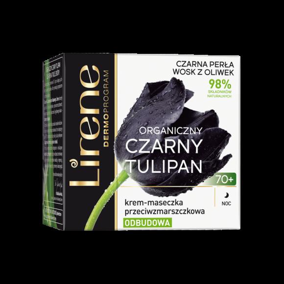 Lirene, Organic Black Tulip, Night Cream 70+, 50 mL