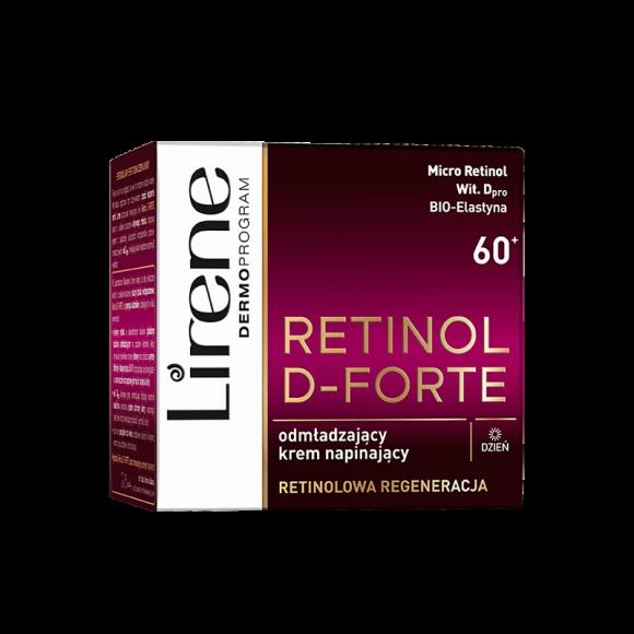 Lirene Retinol D-Forte 60+, Day Cream, 50 mL/1.7 fl.oz