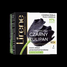 Lirene, Organic Black Tulip, Night Cream 60+, 50 mL