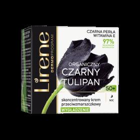 Lirene, Organic Black Tulip, Night Cream 50+, 50 mL