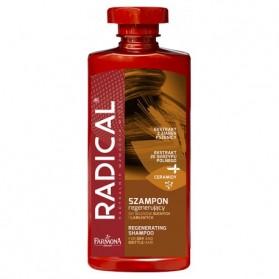Radical Regenerating Shampoo, Szampon Regenerujacy, Farmona, 400 mL