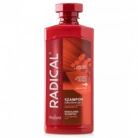Radical Rebuilding Shampoo, Szampon Odbudowujacy, Farmona, 400 mL
