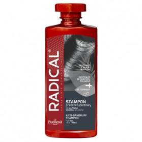 Radical Volume Shampoo, Szampon Przeciwlupiezowy, Farmona, 400mL