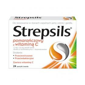 Strepsils with Vitamin C (Orange)