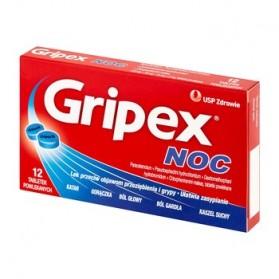 Gripex Noc Night Tablet 12 Piece