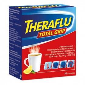 Theraflu Total Grip Powder (10 Packets)