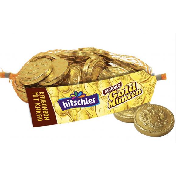 Chocolate Gold Coins 130g Hitschler