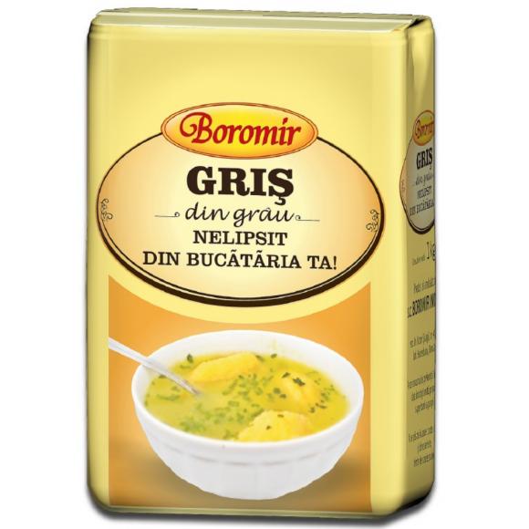 Semolina Gris Flour Boromir 1kg