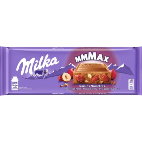 Milka Max Raisins and Hazelnuts 270g