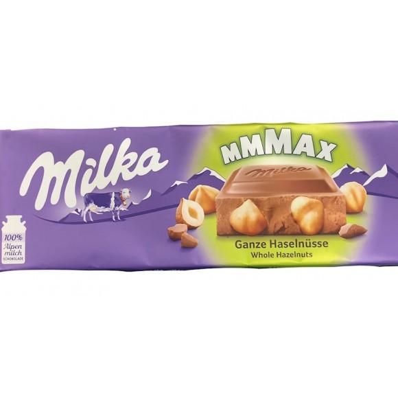 Milka Max Whole Hazelnuts 270g