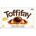 Toffifay A Whole Hazelnut, Caramel Hazelnut Cream, Chocolate Box 33g