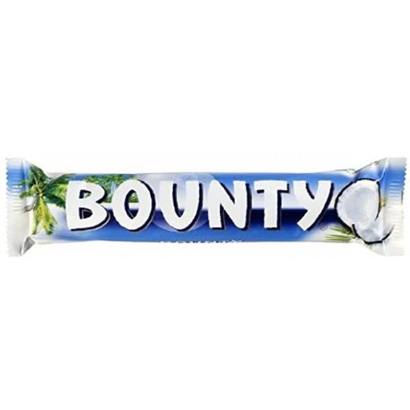 Bounty Coconut Chocolate 2x Bars 57g