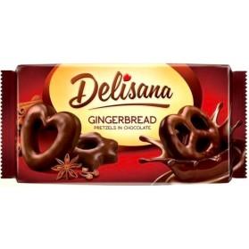 Gingerbread Pretzels in Chocolate Delisana 400g