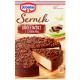 Powdered Cheesecake with Chocolate, Sernik Krolewski z Czekolada 520g Dr. Oetker