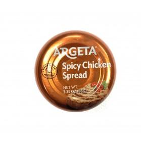 CHICKEN SPREAD SPICY ARGETA 95g/3.35oz