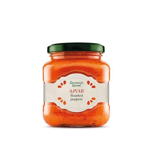 Ajvar with Roasted Peppers Granny's Secret 550g