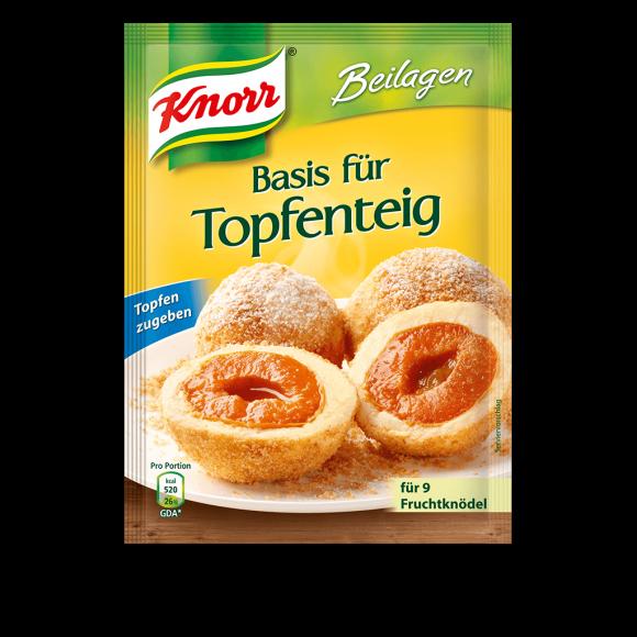 Knorr Fruit Dumplings Mix / Beilagen Basis Fur Topfenteig 125g