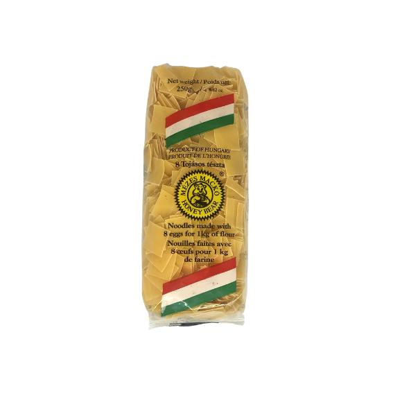 Honey Bear Square Egg Noodles, Lebbencs Tészta, 250g