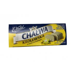 E.Wedel Chalwa Krolewska Vanilla Flavour Sesame Halva 250g/8.82oz
