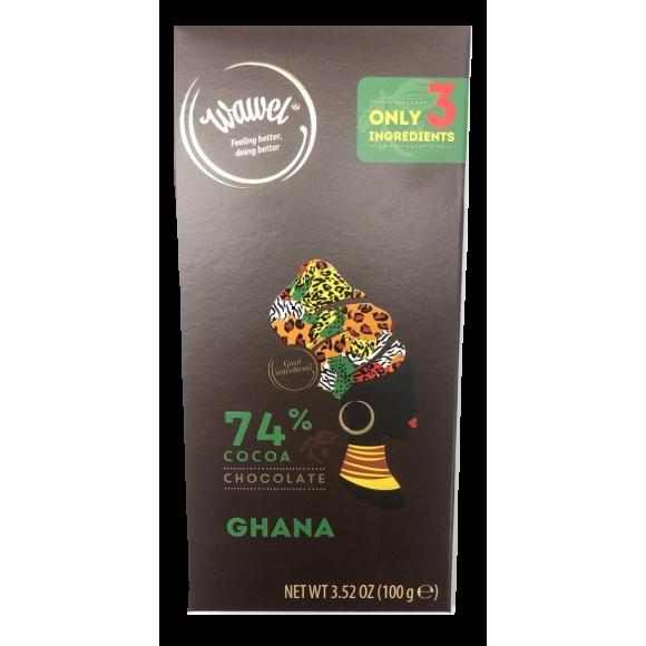 Wawel Dark Chocolate Ghana 74% Cocoa 100g