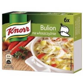 Knorr Vegetable Broth Cubes, Bulion 60g