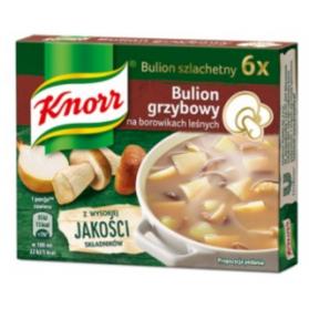 Knorr Mushroom Broth Cubes, Bulion 60g