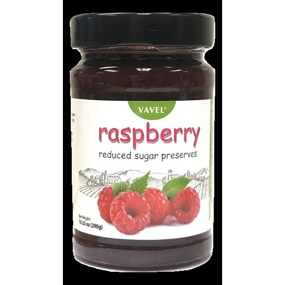 Vavel Raspberry Reduced Sugar Preserves 290g