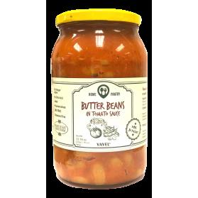 Vavel Butter Beans in Tomato Sauce, Fasola Piekny Jas w Sosie Pomidorowym 940g