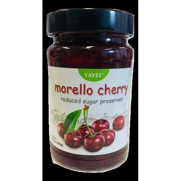 Vavel Morello Cherry Reduced Sugar Preserves 290g