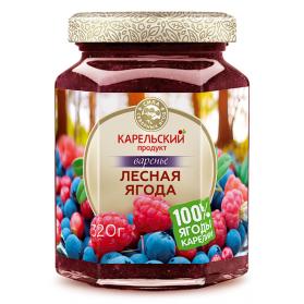 Wild Berries Preserves Karelian Product Kosher/Halal 320g