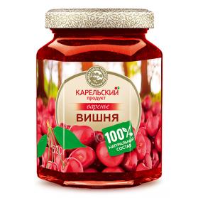 Sour Cherry Preserves Karelian Product Kosher/Halal 320g