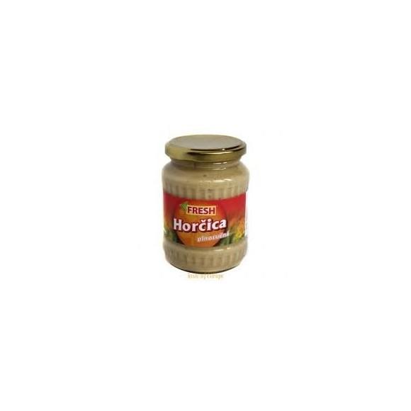 Fresh Horcica Plnotucna (350g /12.3 Oz) Traditional Mustard From Slovakia