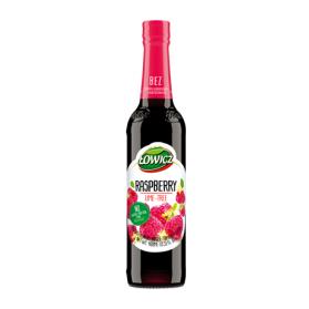 Lowicz Raspberry Syrup with Lime Tree 400ml 13.53 fl. oz.