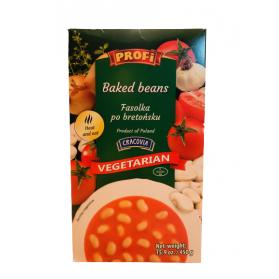 Baked Bean in Tomato Soup Vegetarian Profi 450g