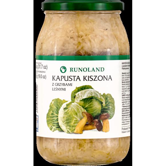 Sauerkraut with Mushrooms, Runoland 900g