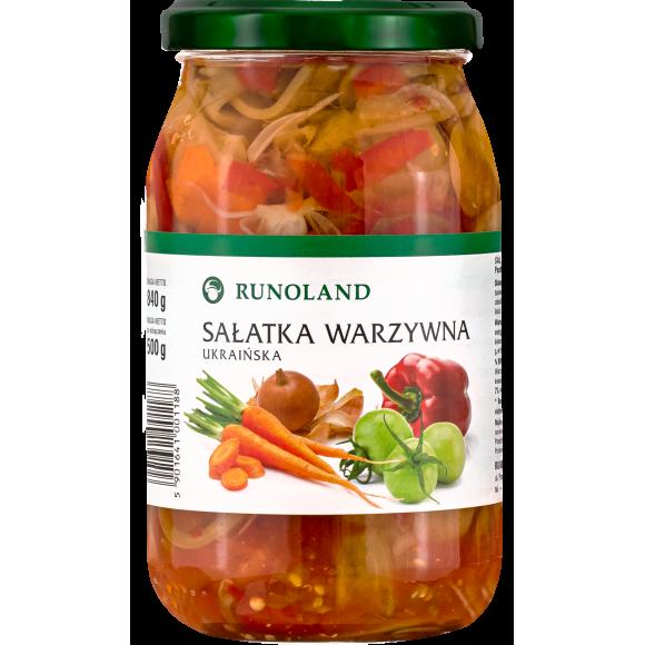 Ukrainian Mixed Vegetable Salad, Runoland 840g