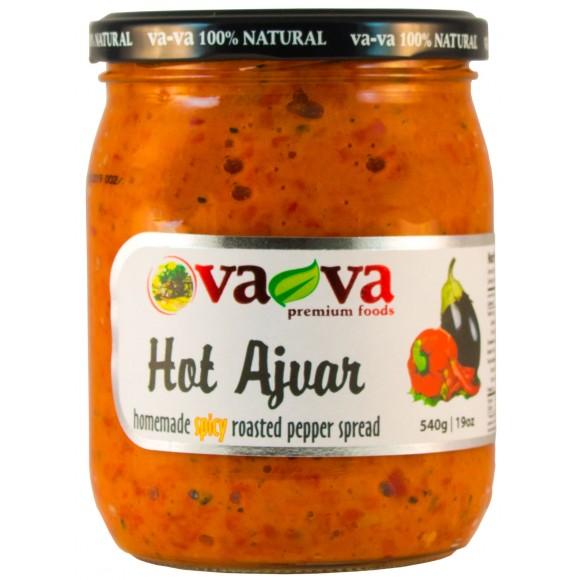 Ajvar Hot Roasted Pepper Spread Vava 520g