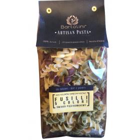 Artisan Pasta 5 Color Fusilli Bartolini Organic 400g