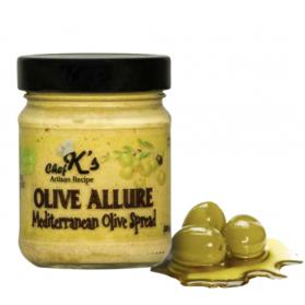 """Vegetarian Olive Spread """"Olive Allure"""" Chef K 200g"""