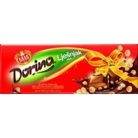 Dorina Milk Chocolate with Hazelnuts 100g
