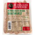 Bratwurst Nurnberget Brand Schaller & Weber Approx 12 oz