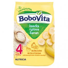 Instant Rice Porridge with Banana Flavor, 4mo+, Bobovita, 180g