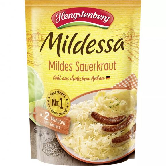Mildessa Mild Sauerkraut, Hengstenberg 400g/14.1 oz.