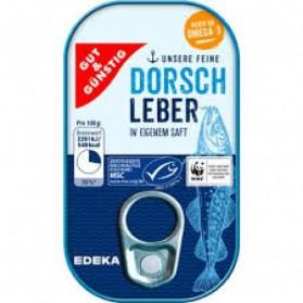 Gut & Gunstig Dorsch Leber 121g