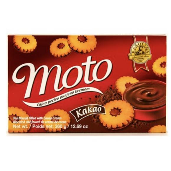 Moto Tea Biscuit with Cocoa Cream 360g