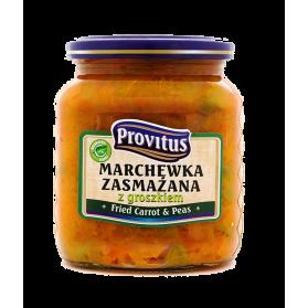 Fried Carrot with Peas, Marchewka Zasmazana z Groszkeim, Provitus