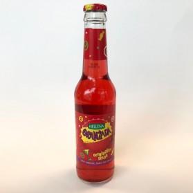 Orangeade Carbonated Drink, Hellena Oranzada (Red) (275ml)